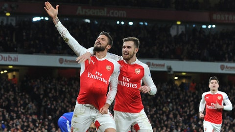 Oft-criticized Arsenal turn out to be 2015's best team