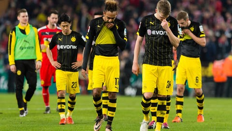 Dortmund's poor end to 2015