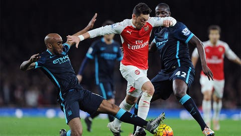Ozil again the difference