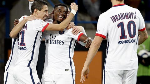 Paris Saint-Germain (LW: 3)