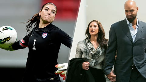 January: Hope Solo's troubles