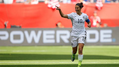 July: World Cup glory and Carli Lloyd becomes legend