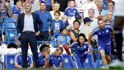 Naughty: Jose Mourinho