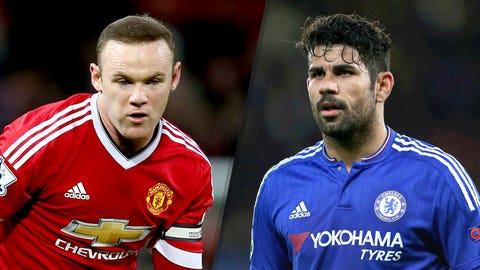 Manchester United v Chelsea (12:30 p.m. ET, Monday)