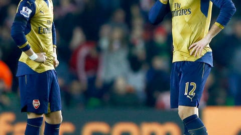 Arsenal look a gift horse in the mouth