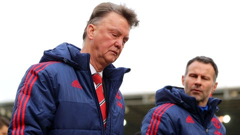 Louis van Gaal's time is up at United