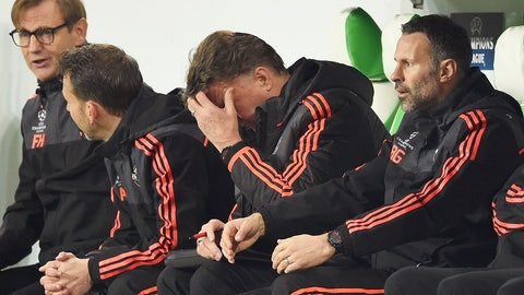December 8: Wolfsburg 3, Manchester United 2