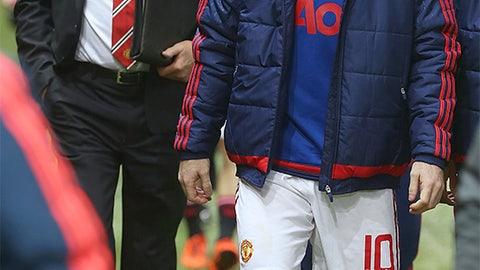 October 28: Manchester United 0, Middlesbrough 0 (M'Boro win 3-1 on kicks)