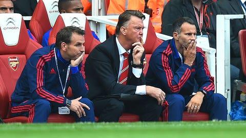 October 4: Arsenal 3, Manchester United 0