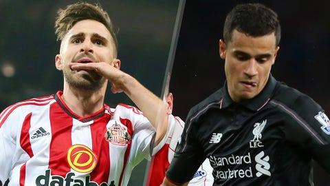 Sunderland v Liverpool (2:45 ET, Wednesday)