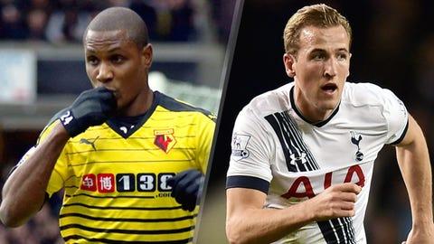 Watford v Tottenham (10 AM ET, Monday)
