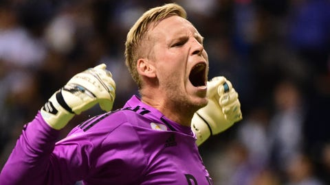 Goalkeeper: David Ousted (Vancouver Whitecaps)