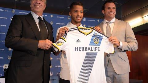 LA Galaxy land Giovani dos Santos