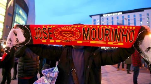 Mourinho scarves outside Old Trafford an ill omen