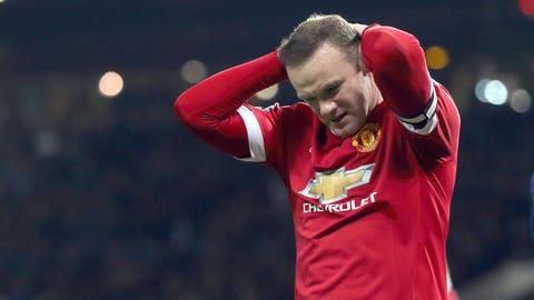 Wayne Rooney vanishes