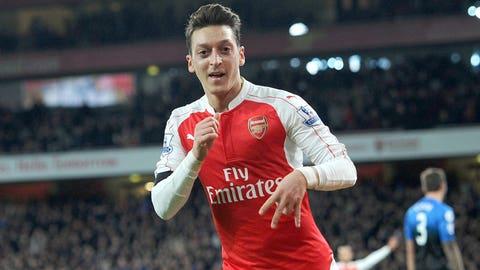 Mesut Ozil sparkles