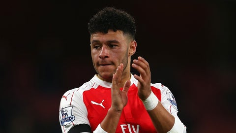 Alex Oxlade-Chamberlain has a bright future in the center of midfield