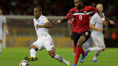 Americans pass first WCQ test in Trinidad and Tobago