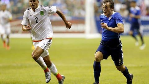 Jordan Morris scores the winner against Mexico