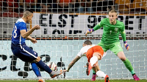 Bobby Wood pops up in the dying moments to stun the Netherlands
