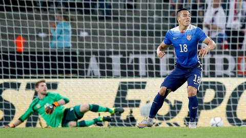 Bobby Wood strikes again to defeat World Cup winners Germany