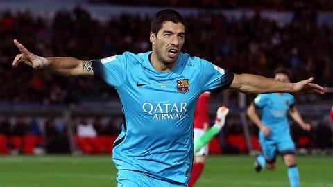 Forward: Luis Suarez (Barcelona/Uruguay)