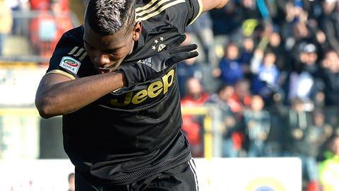 Central midfielder: Paul Pogba (Juventus/France)
