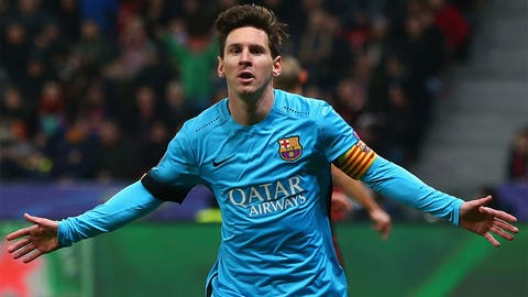 Attacking midfielder (c): Lionel Messi (Barcelona/Argentina) and FOXSoccer.com's Player of the Year