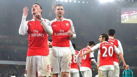 Hey look, Arsenal play like champions…