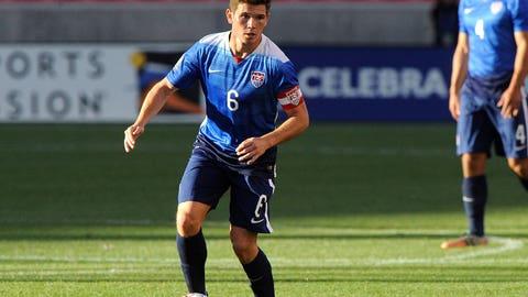 Columbus Crew SC midfielder Wil Trapp