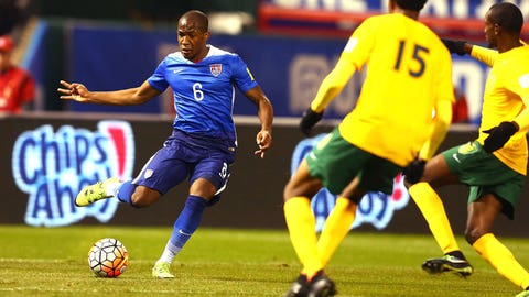 Portland Timbers midfielder Darlington Nagbe