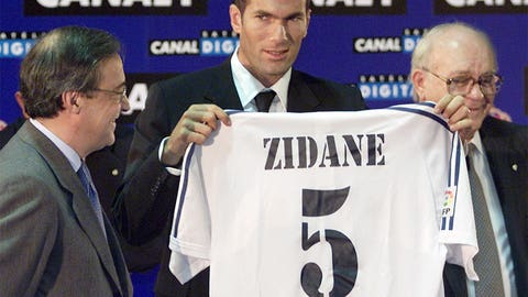 Joins Real Madrid's Galatico movement