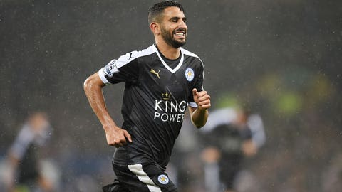 Riyad Mahrez, Leicester City/Algeria