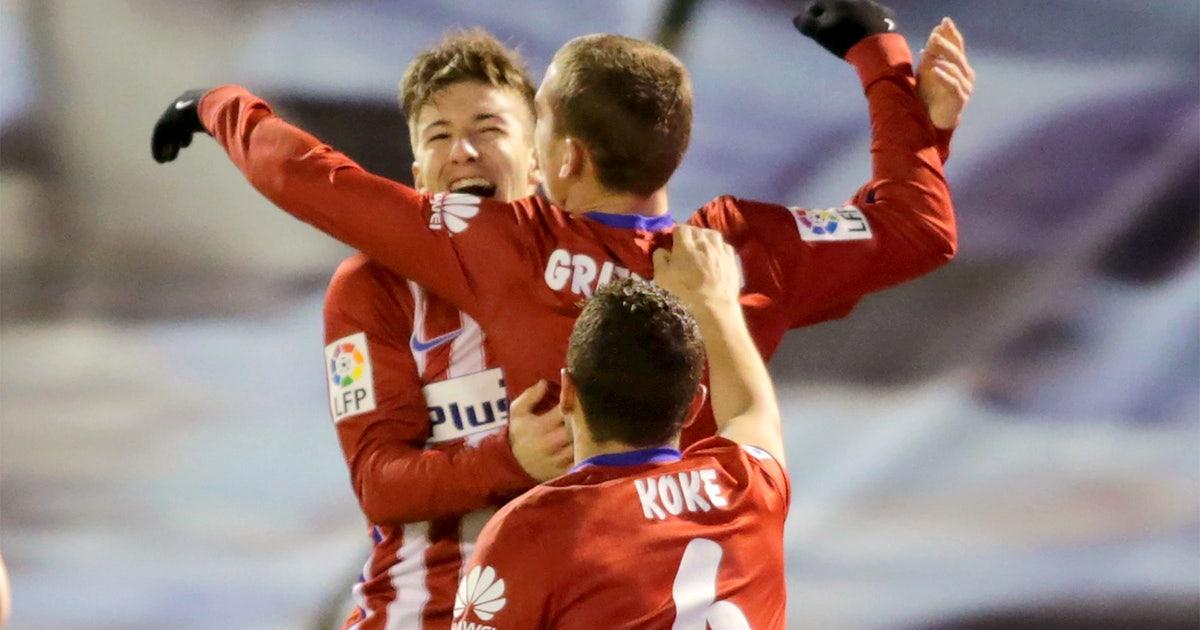 21033a8abdad Atletico reclaim top of La Liga with victory over Celta Vigo