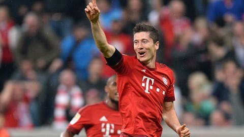 Robert Lewandowski (Bayern Munich/Poland)