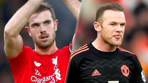 Premier League: Liverpool v Manchester United (Sunday, 9:05 a.m. ET, NBC nets)