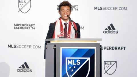 9. Toronto FC -- Tsubasa Endoh, Maryland midfielder