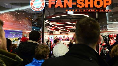 5. Bayern Munich (Bundesliga) -- $515.9 million