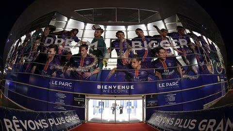 4. Paris Saint-Germain (Ligue 1) -- $523.3 million