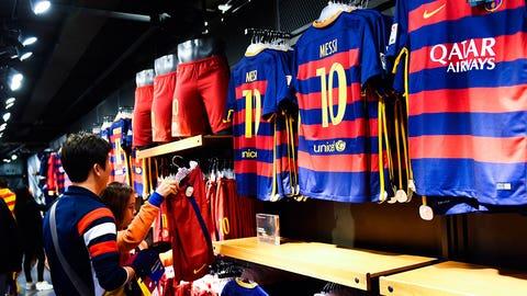 2. Barcelona (La Liga) -- $610.4 million
