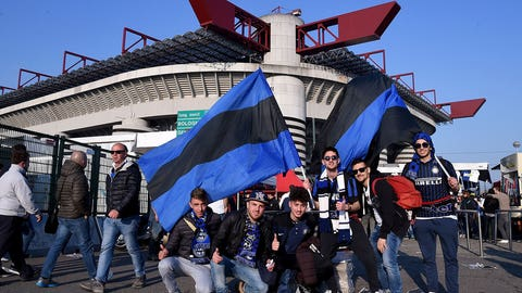 19. Internazionale (Serie A) -- $179.3 million