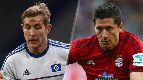 Hamburg vs. Bayern (Friday, 2:30 p.m. ET, FS1)