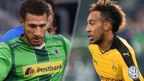 Monchengladbach vs. Dortmund (Saturday, 12:30 p.m. ET, FS1)