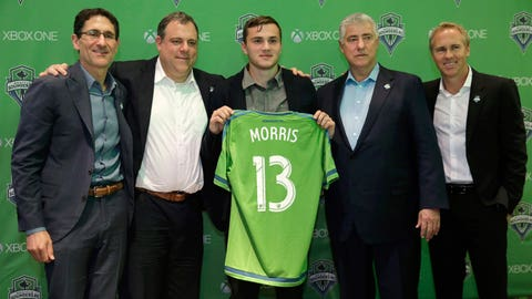 How often will Jordan Morris play for Seattle?