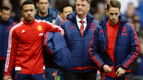 The end for Louis van Gaal at Old Trafford
