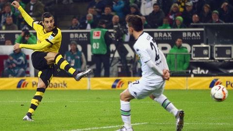 Stud: Henrikh Mkhitaryan (Borussia Dortmund)