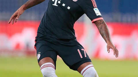 Boateng injury bruises Bayern