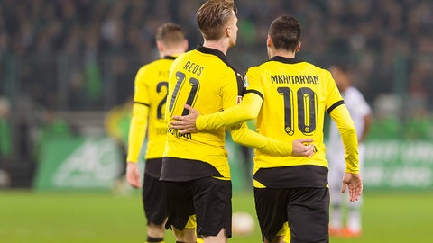 Dortmund thrive in central areas