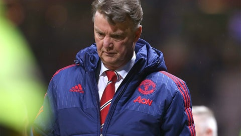 The end for van Gaal?