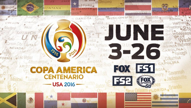 Copa America Centenario: Schedule, times, TV, ticket info and more